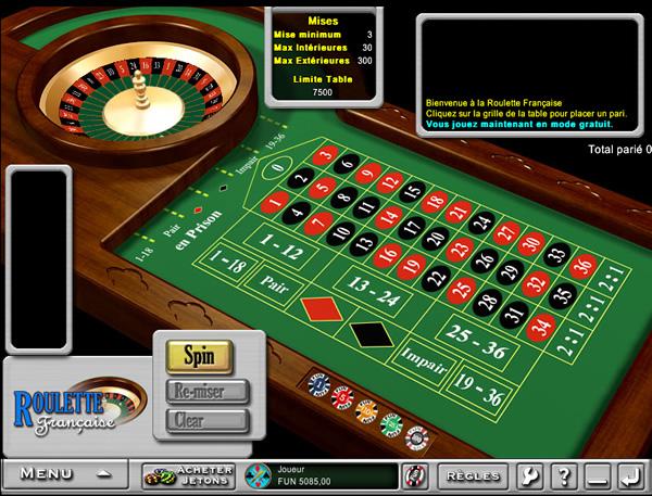 jeux gratuit casino la roulette